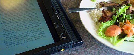 lunch and an ebook