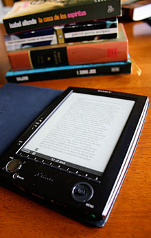 Sony Reader and books