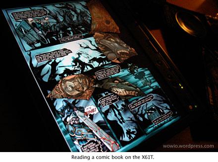 X61T and Comics