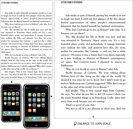 iSlate vs. iPhone screens compared
